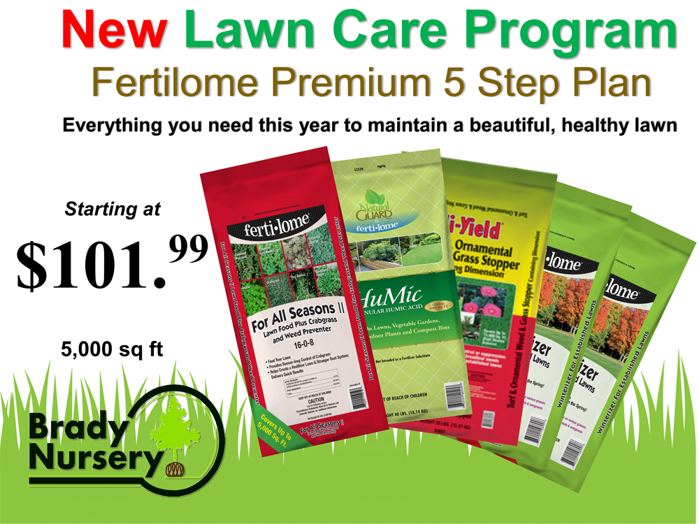 Lawn Care Program2020sign